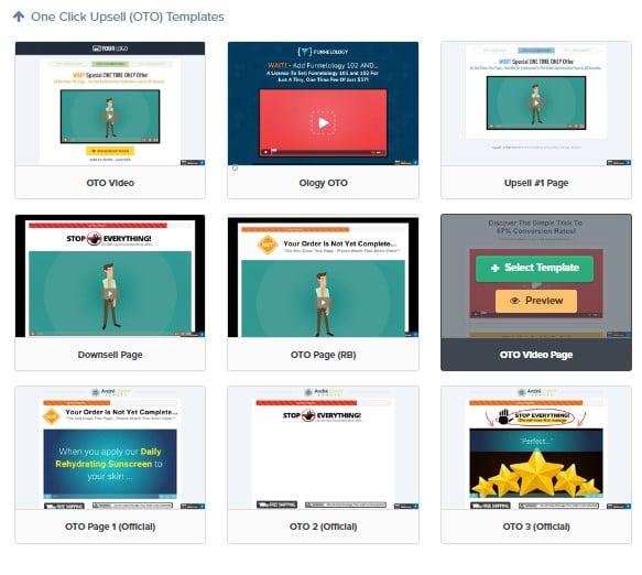 Clickfunnels ventes incitatives upsell/downsell en 1 click