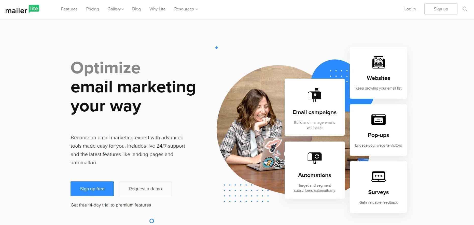 MailerLite - le meilleur outil gratuit de marketing par email