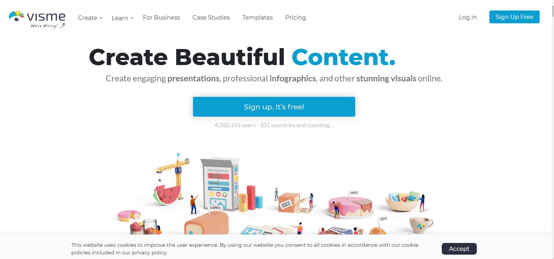 visme- Comment lancer un blog en 2021 ? Version mise à jour