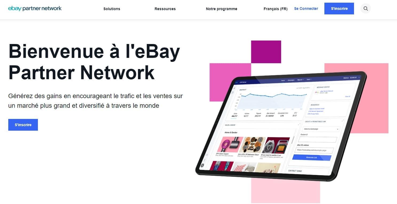 Affiliation avec eBay