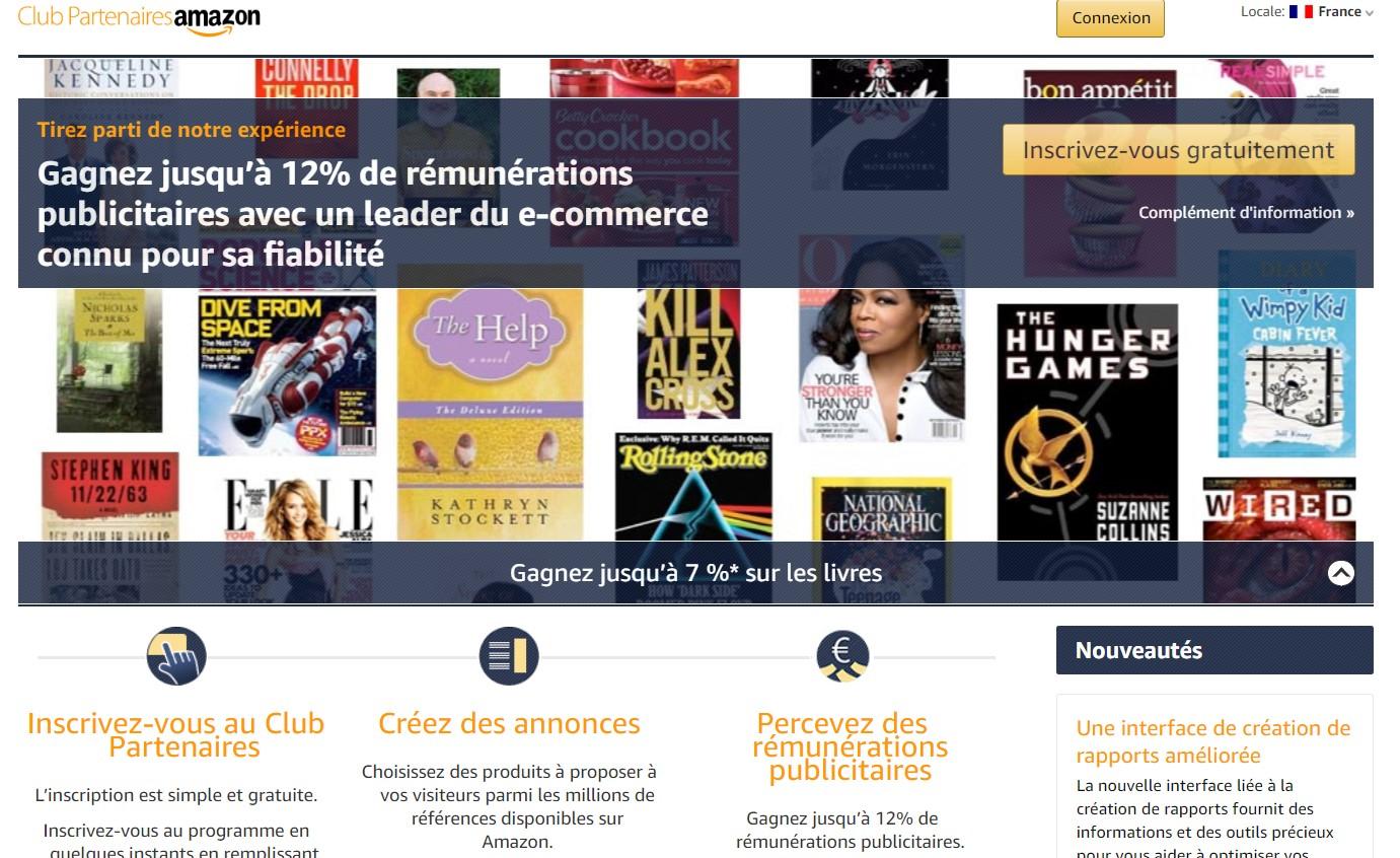 Programme partenaire Amazon