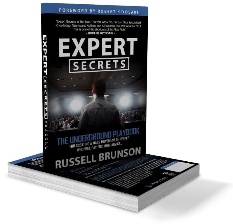 Le livre Expert Secrets de Russell Brunson