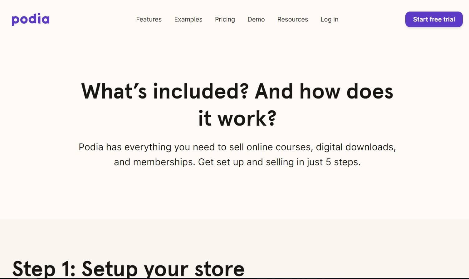 Podia - Plateforme de formation en ligne