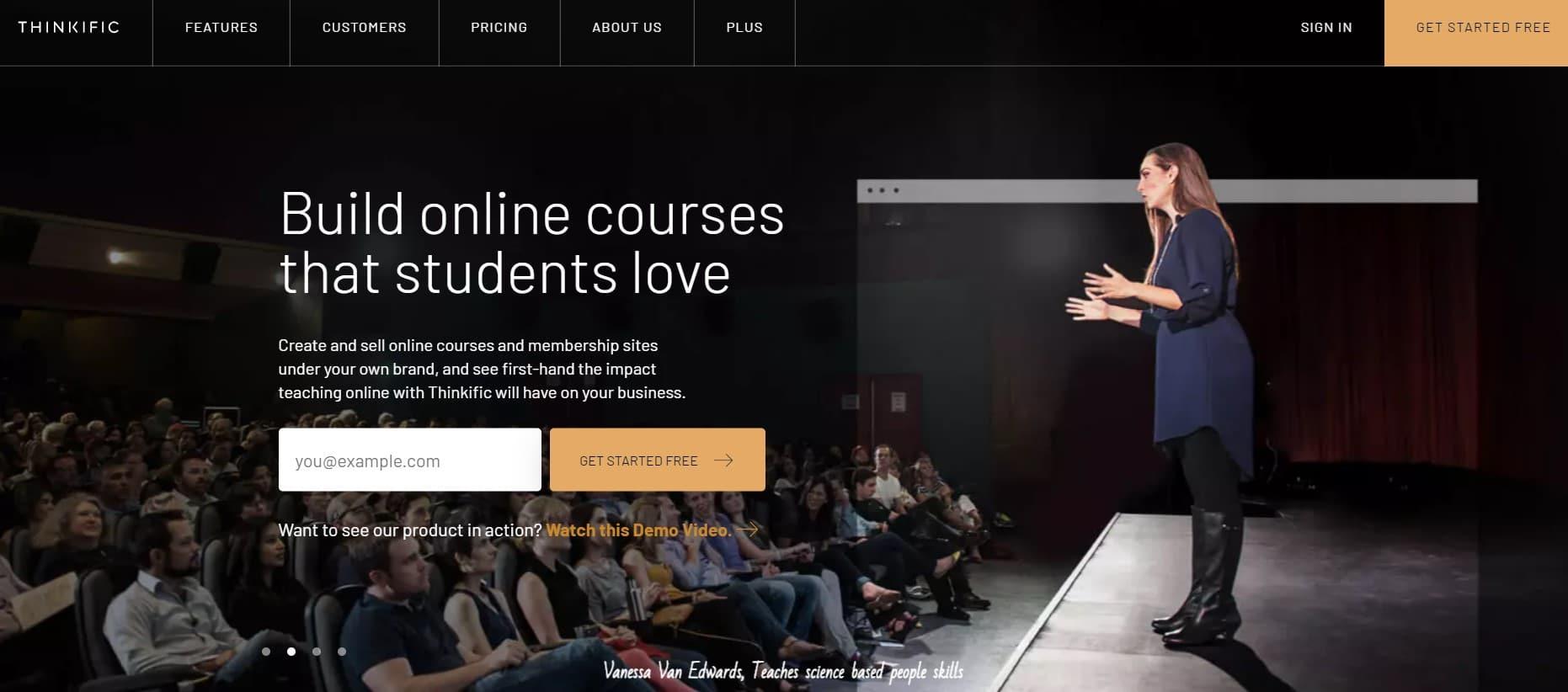 Thinkific  - Plateforme de  formation en ligne