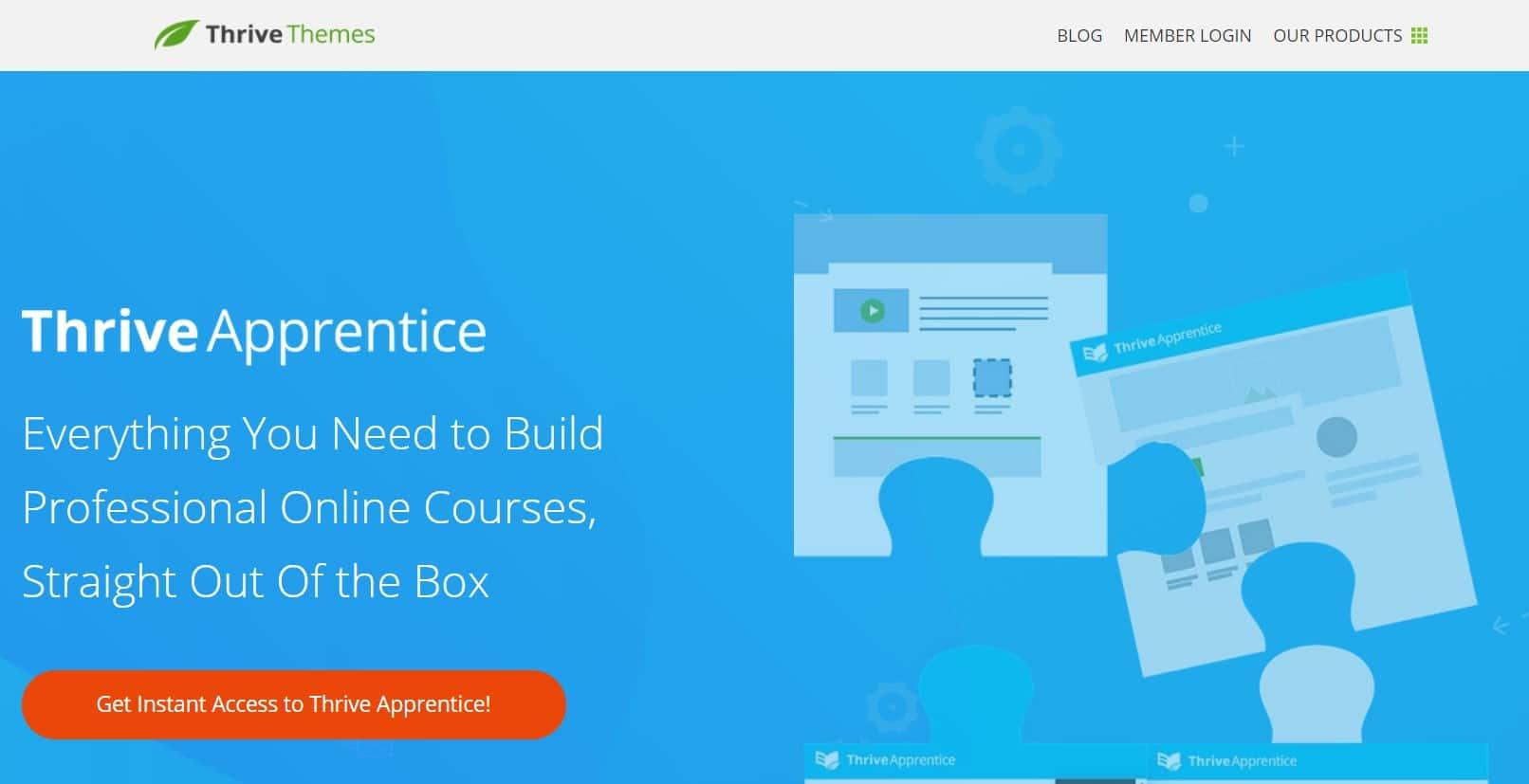 Thrive Themes Apprentice un plugin LMS