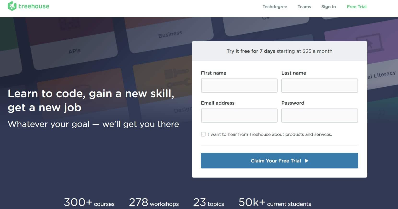 TreeHouse e-learning
