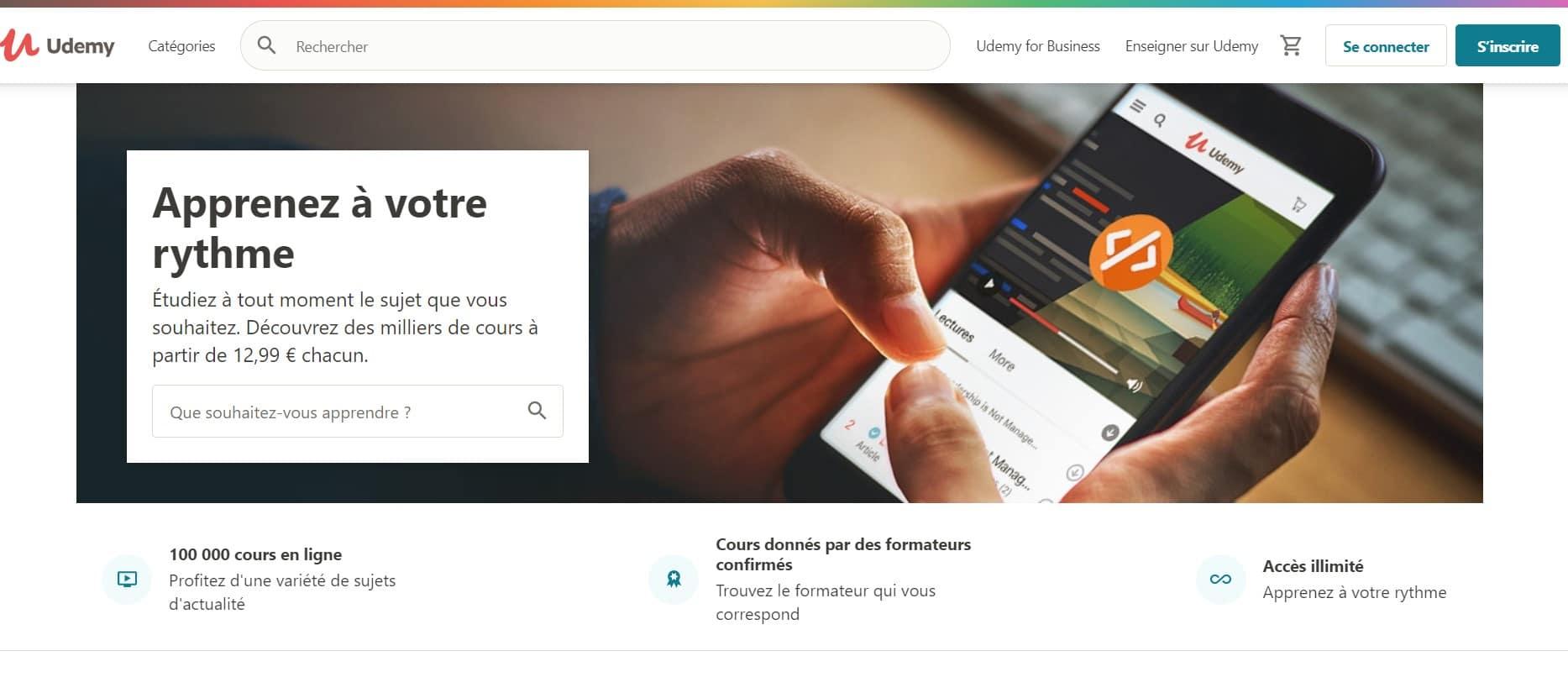 Udemy - Plateforme e-learning