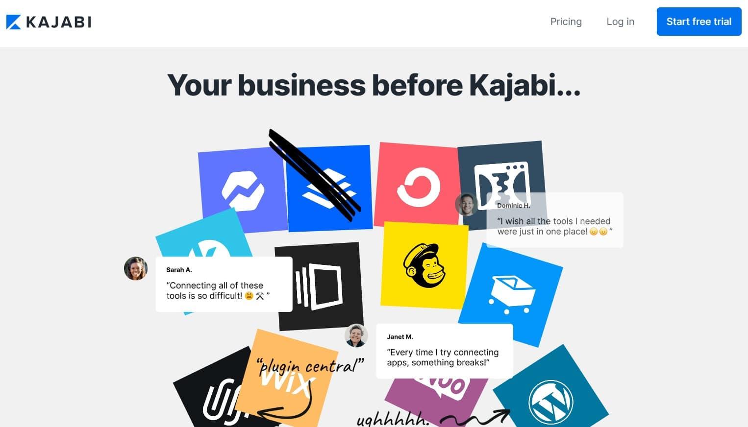 Kajabi - plateforme de formation en ligne