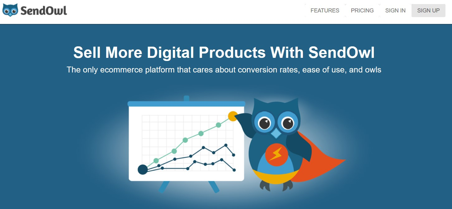 SendOwl pour vendre vos produits numériques