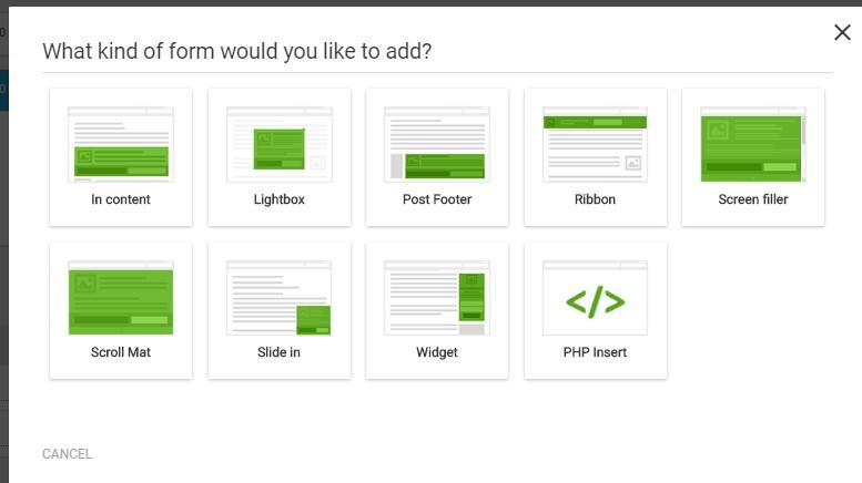 Collecter des adresses électroniques avec Thrive Leads