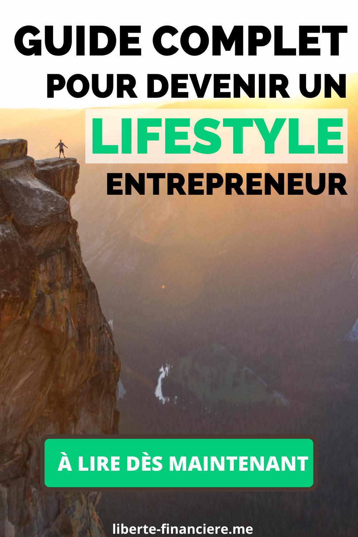 Guide-  Lifestyle Entrepreneur
