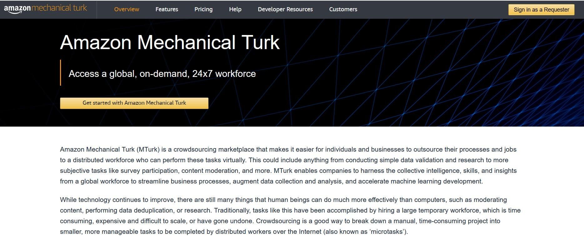Gagnez de l'argent avec Mechanical Turk d'Amazon (MTurk pour les intimes)