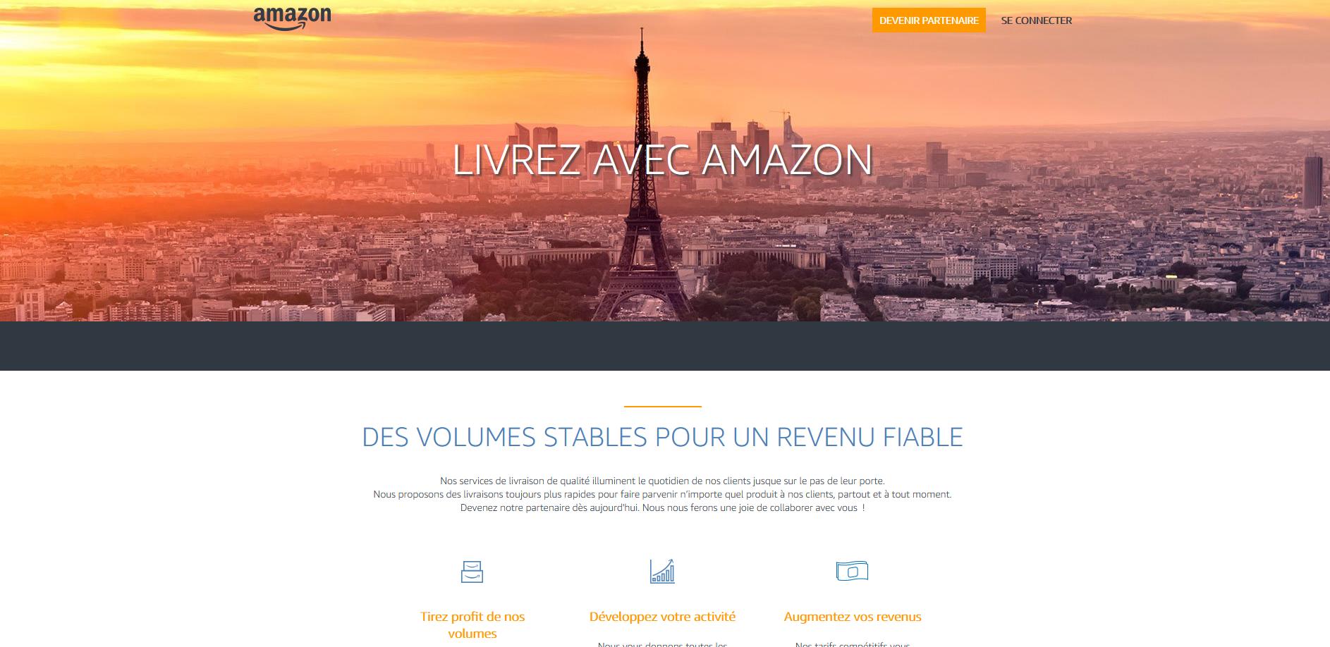 Gagner de l'argent en livrant les colis Amazon - Développer votre entreprise de transport