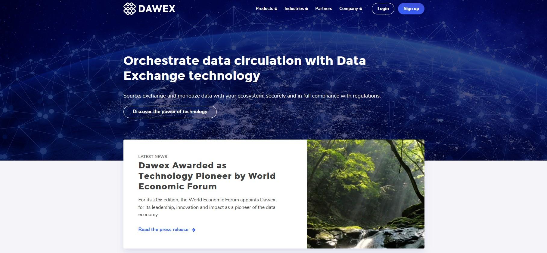 Vendre ses donées sur la plateforme Dawex