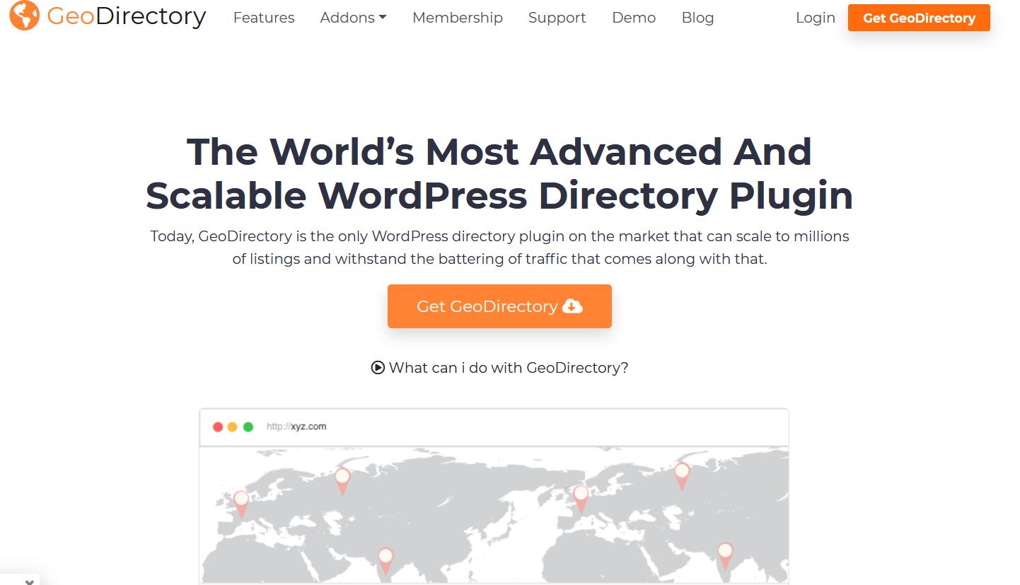 GeoDirectory pour la monétisation des sites web