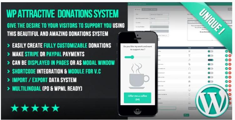 Récupérer des dons avec WP Attractive Donations System