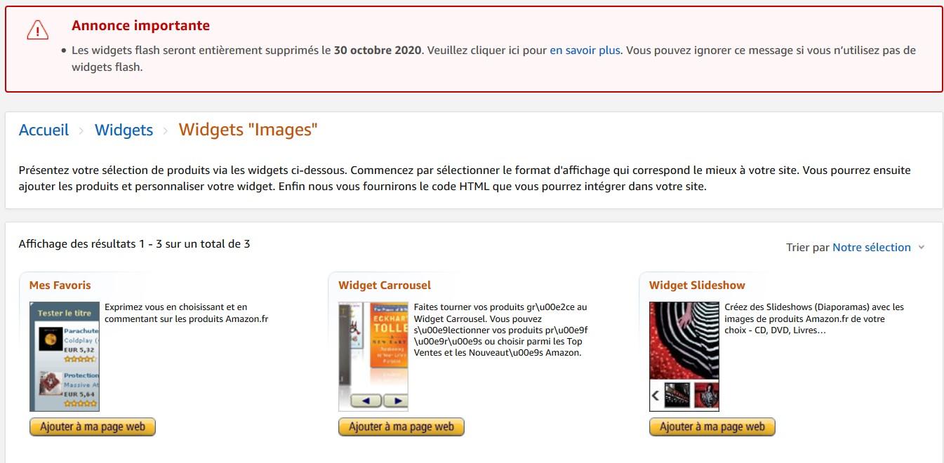 Monétiser son site web avec des widgets publicitaires