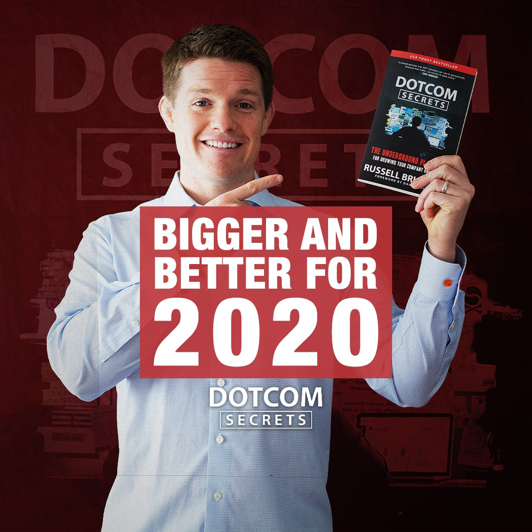Russel Brunson présente DotCom Secrets version 2020