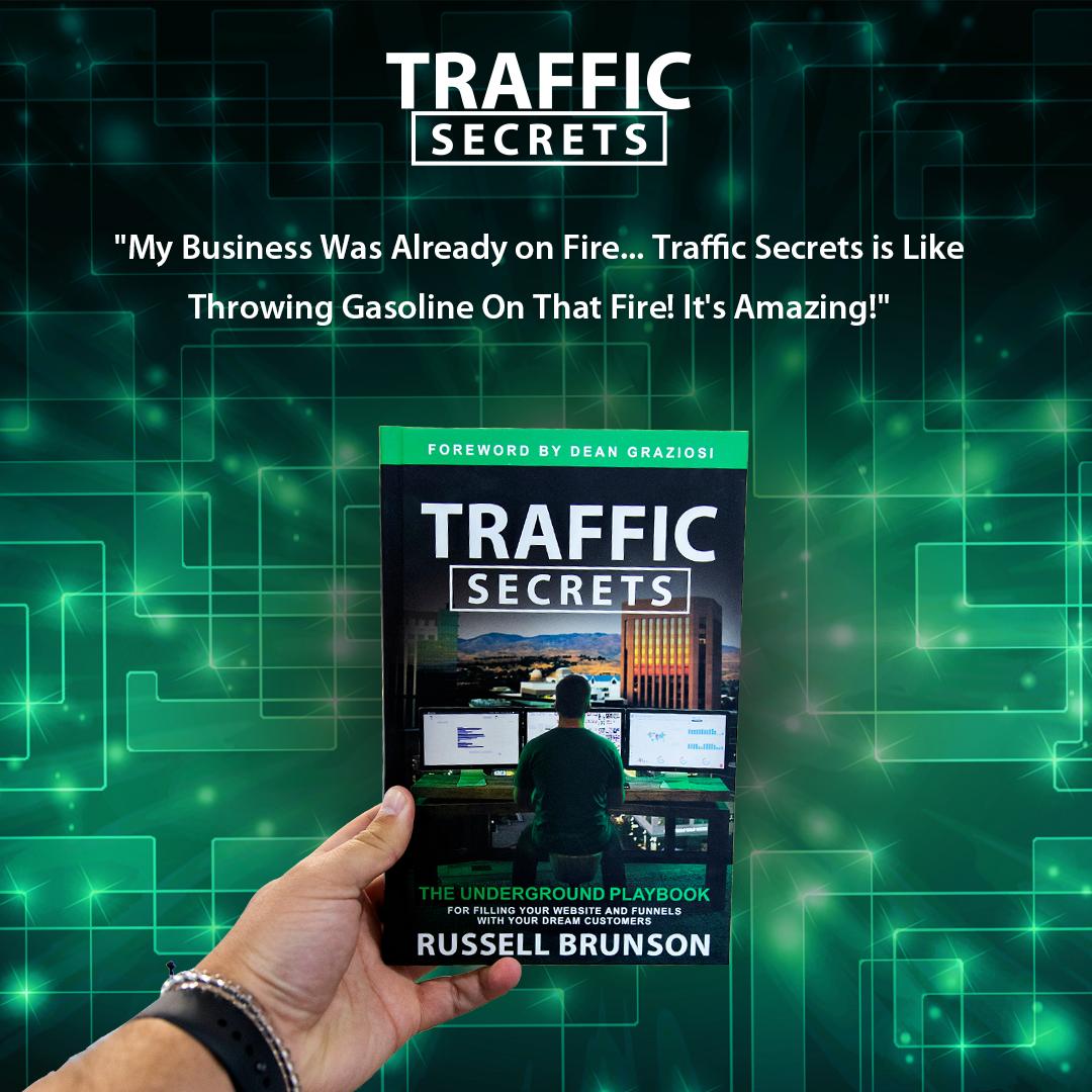 Comment se procurer Le livre Traffic Secrets de Russell Brunson ?