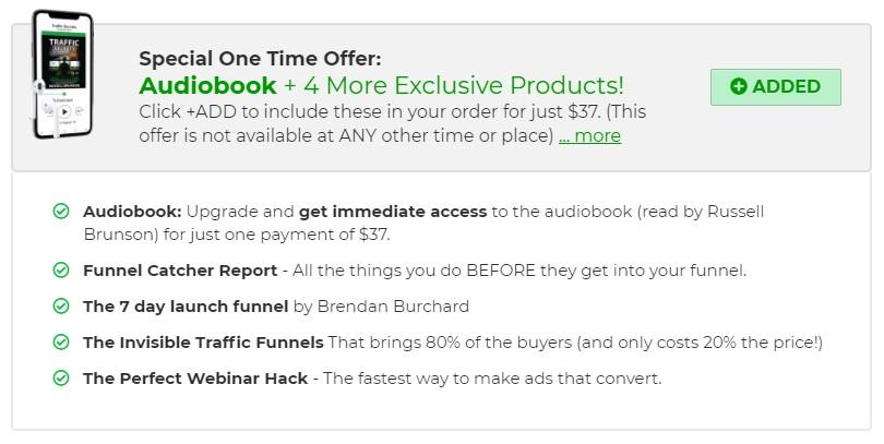 Achetez le livre Audio Traffic Secrets pour ne rien rater même dans votre voiture