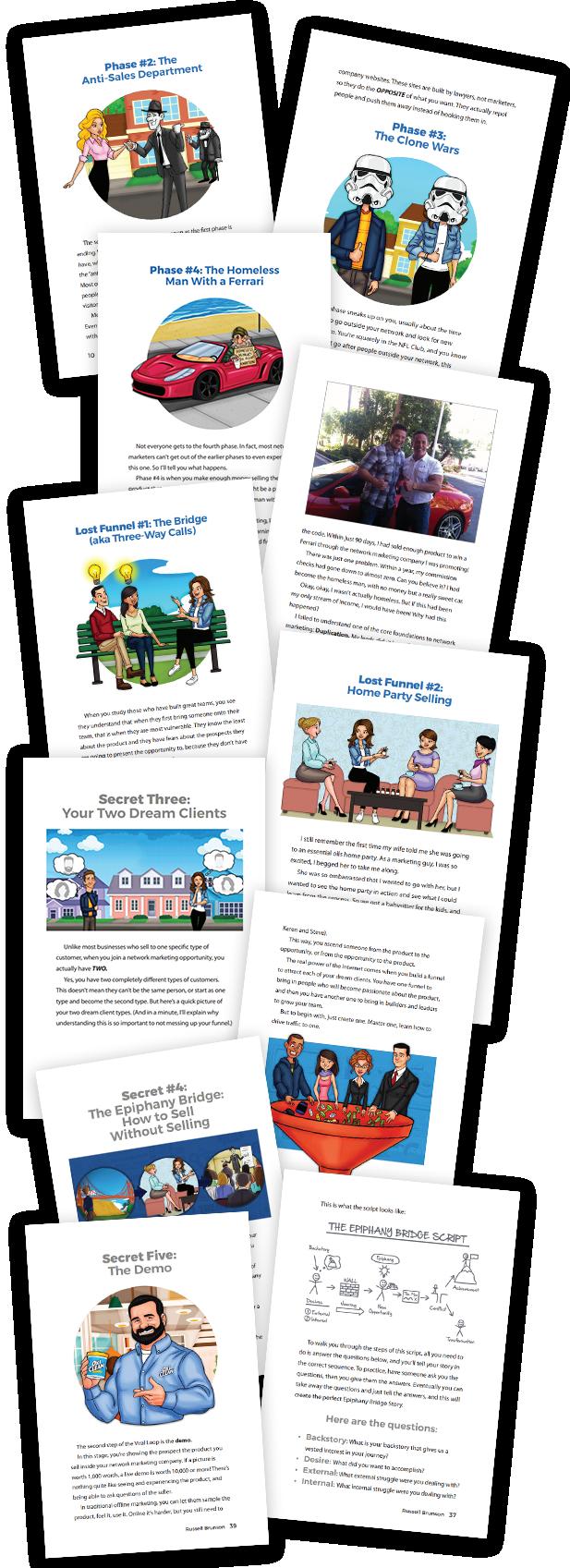 rightbar pages- Network Marketing Secrets, le livre pour développer votre MLM