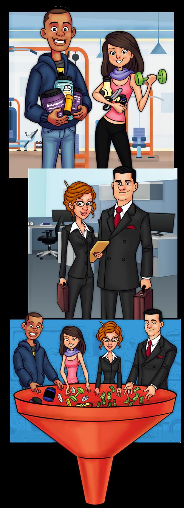 rightbar funnel- Network Marketing Secrets, le livre pour développer votre MLM