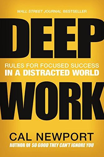 Deep Work par Cal Newport