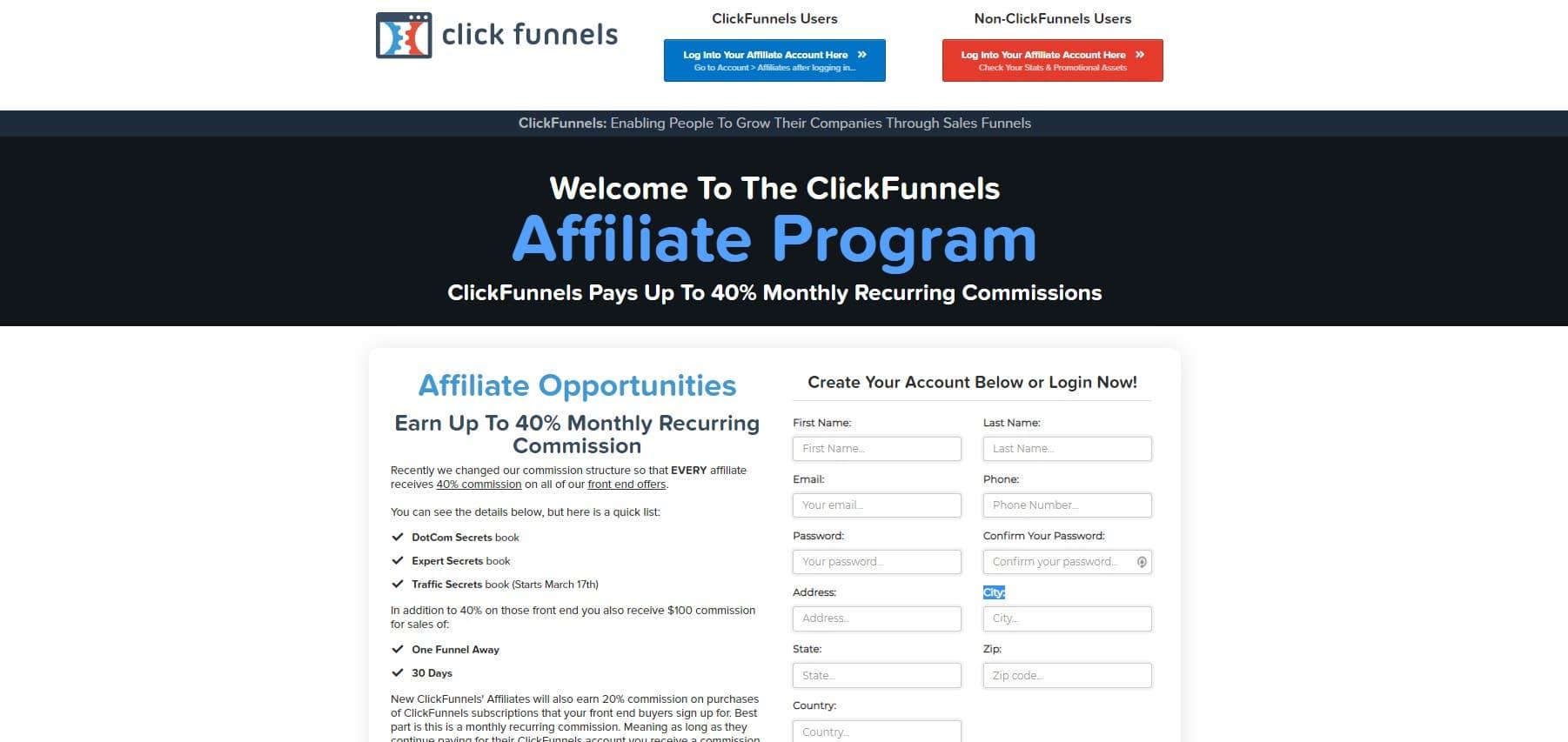 Qu'est-Ce Que L'affiliation ClickFunnels ?