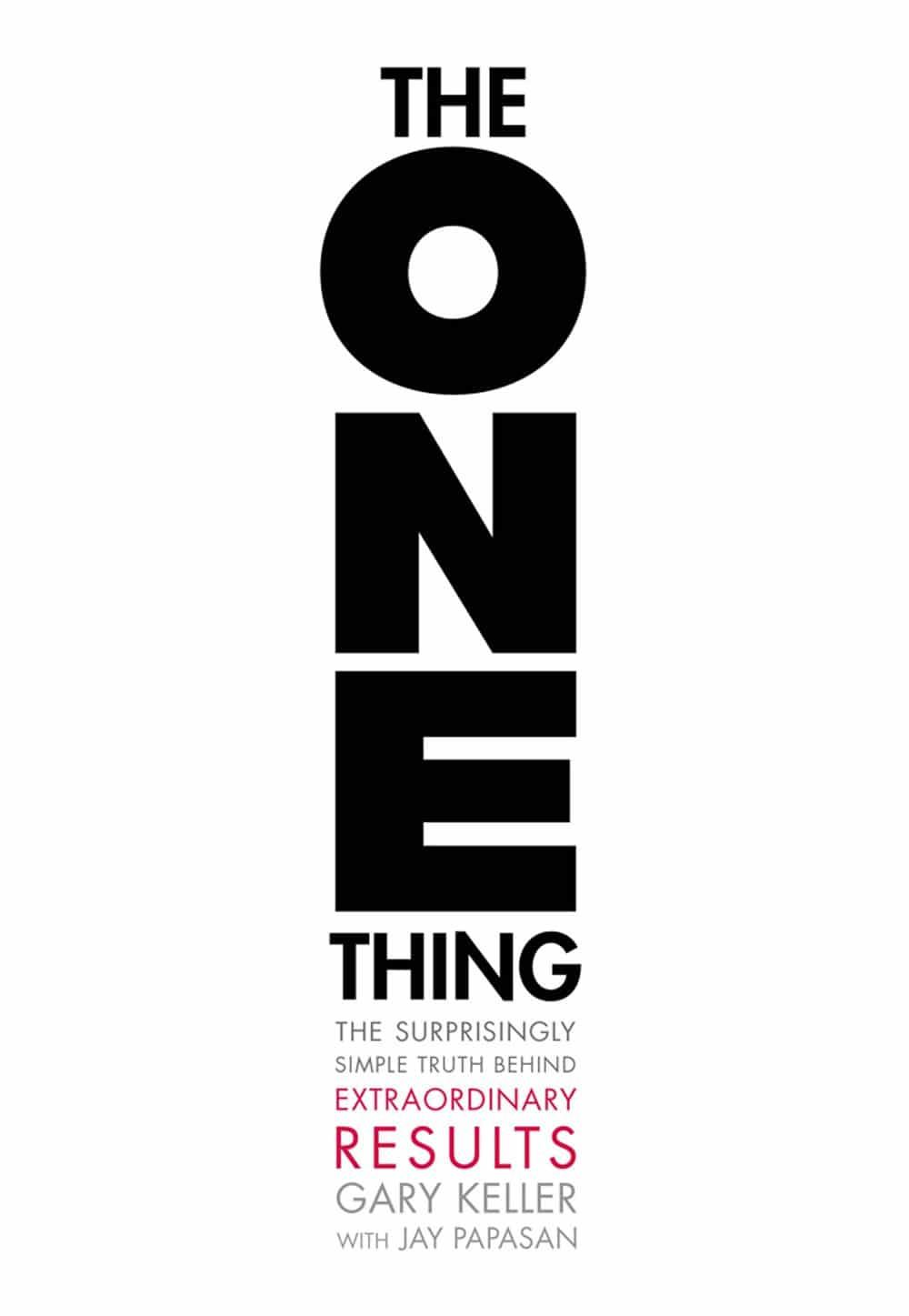 """Achetez le livre """"The One Thing"""" sur Amazon"""